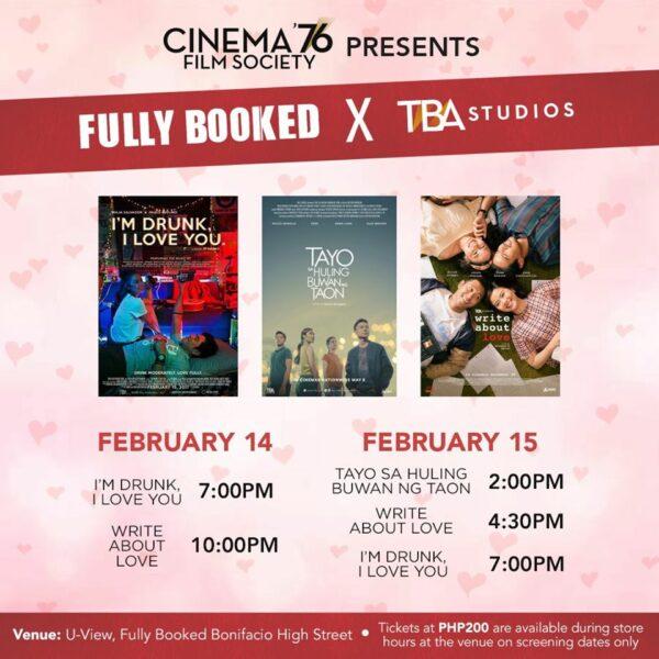 Valentine's Day Activities 2020 - Cinema '76 screening