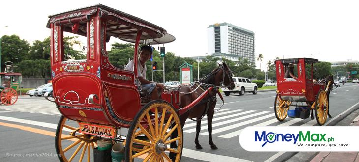 Kalesa driver in Manila