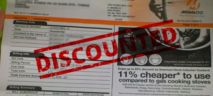 Senior Citizens Discounts on Utility Bills