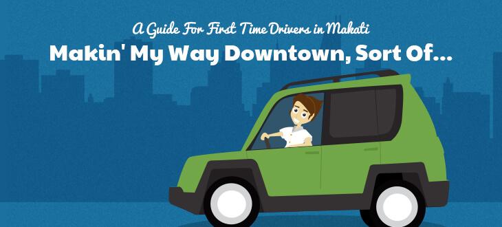 Driving in Makati