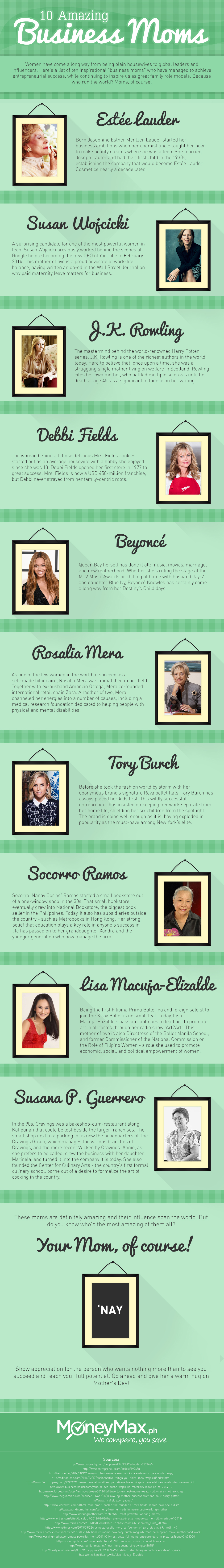 Business Moms Infographic