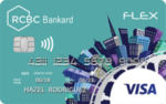 credit cards for first-timers - rcbc bankard flex visa