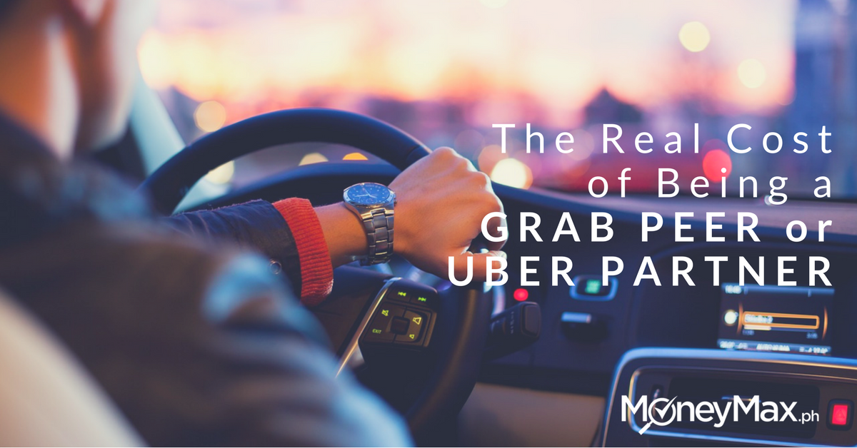 the real cost of being a grab peer or uber partner