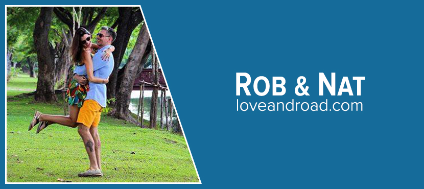 Rob and Nat of Loveandroad