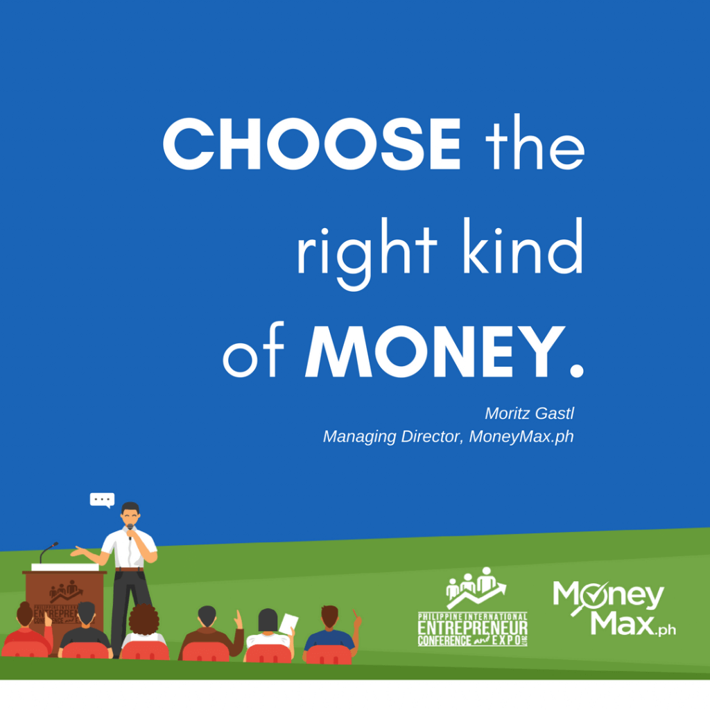 Choose the right kind of money