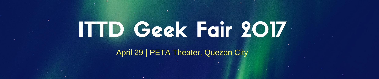 ITTD Geek Fair 2017 2