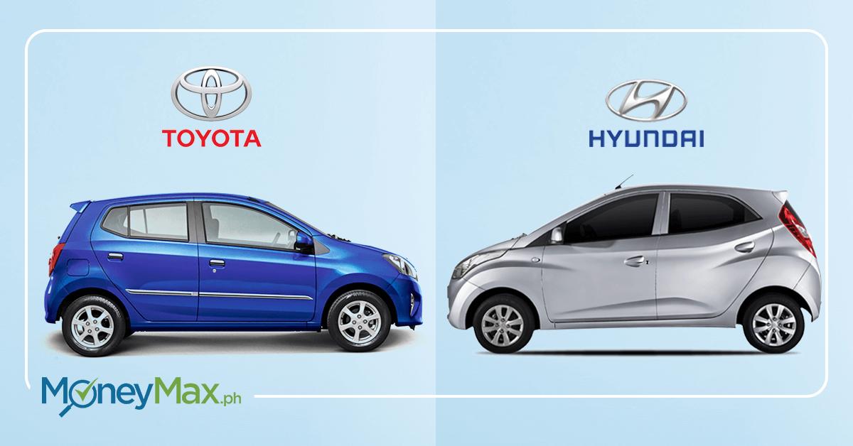 Toyota Wigo vs Hyundai Eon | MoneyMax.ph