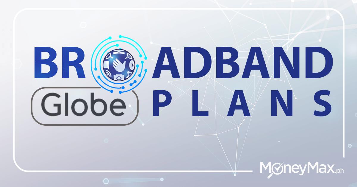 Globe broadband plans
