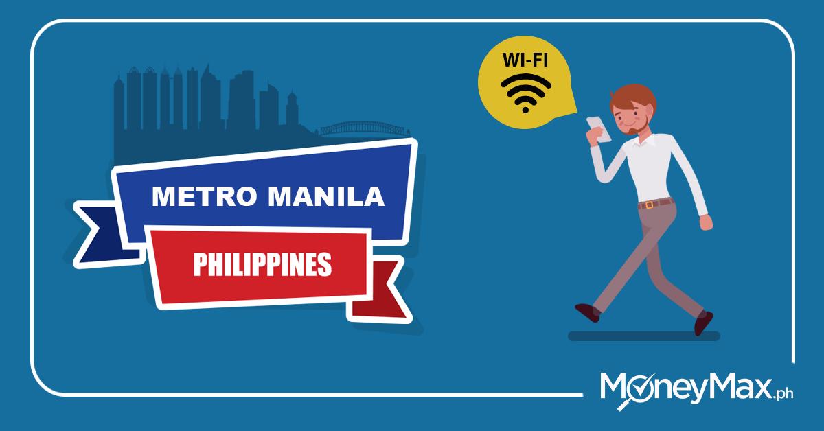 Free Wi-Fi in Metro Manila   MoneyMax.ph