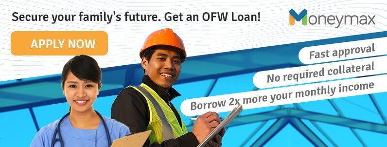 apply for an ofw personal loan with Moneymax