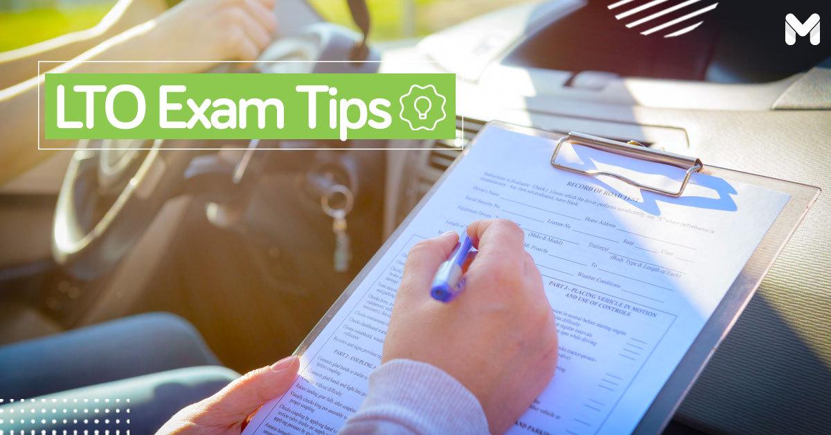 LTO Exam Tips | Moneymax