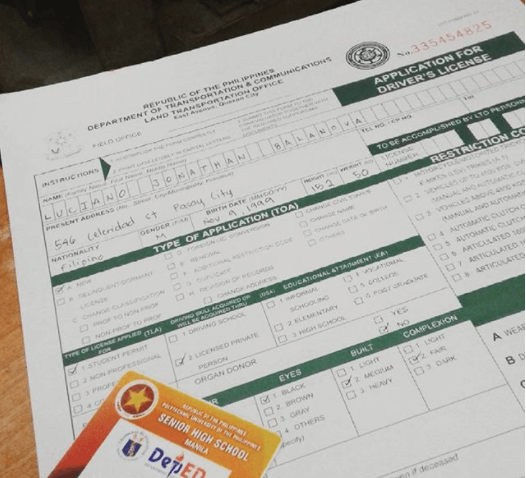 driver's license requirements