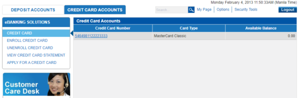 metrobank direct online guide - metrobank direct credit card management