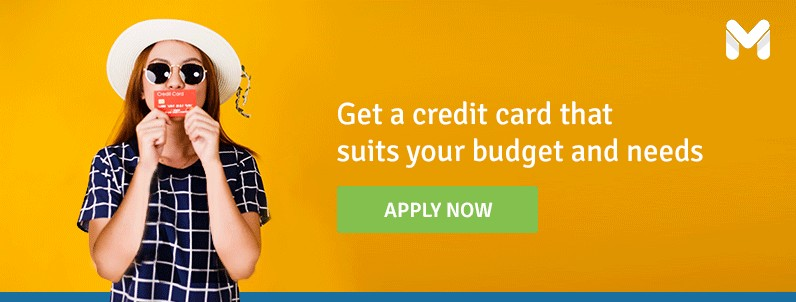 get a credit card with Moneymax that suites your need