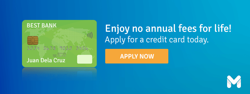 apply for a credit card today