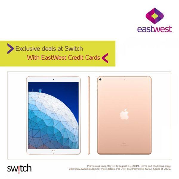 EastWest Credit Card Promo 2019 - Apple Store Promo
