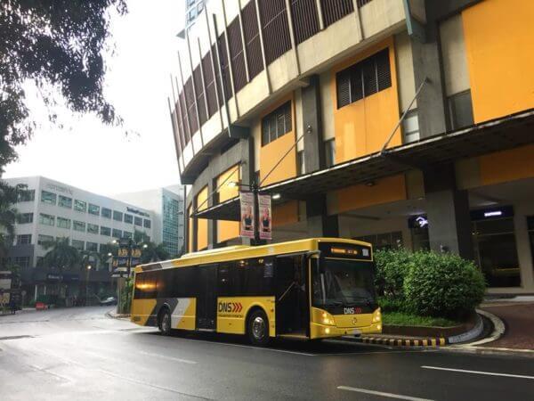 Eastwood to Makati P2P bus stop