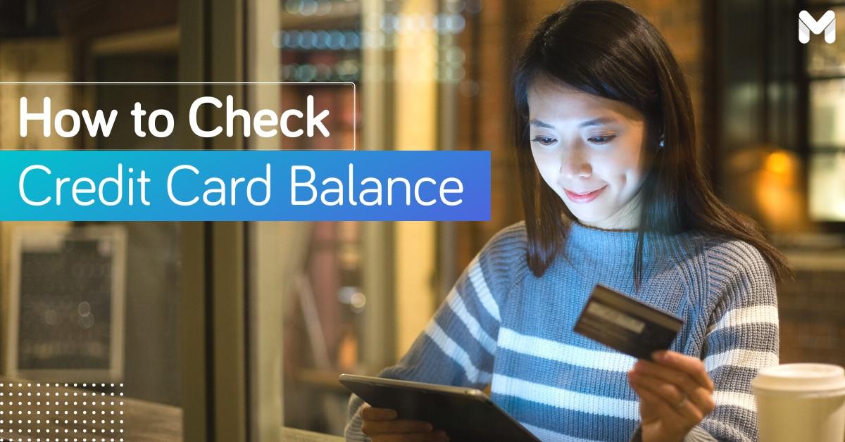 How to Check Credit Card Balance | Moneymax