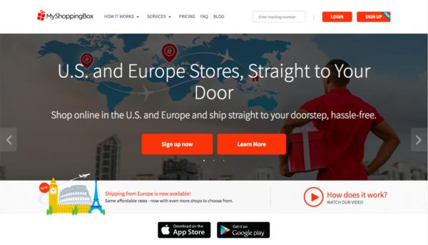 international shipping companies - my shopping box