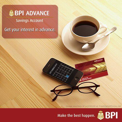 Savings Account with High Interest - BPI Advance Savings