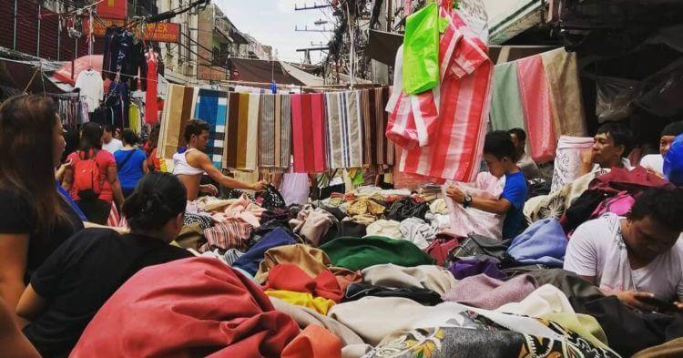 cheap textile in Divisoria