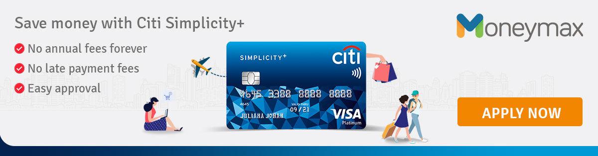 Save money with Citi Simplicity!+