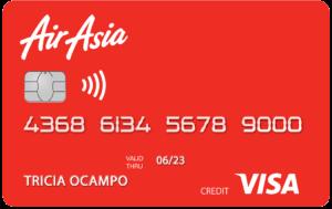 Best Travel Credit Cards - RCBC AirAsia Visa Credit Card
