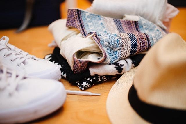 travel essentials checklist - clothing for women