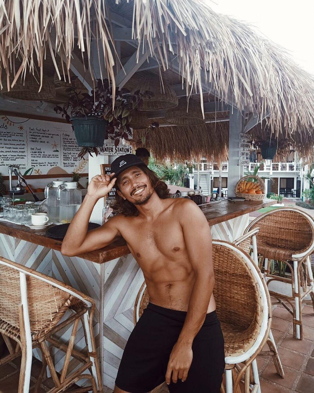 luke landrigan in his resort in la union