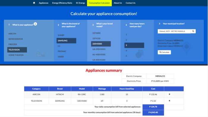 how to compute meralco bill - wattmeters calculator