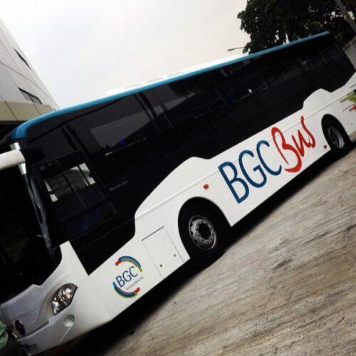 bgc bus routes guide - photo of bgc bus