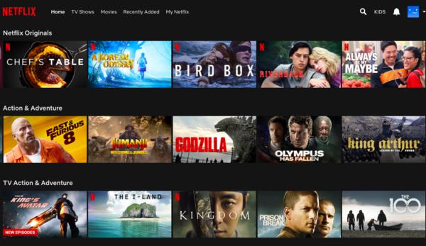 Battle of the Brands: Netflix vs iflix - Content Availability Netflix