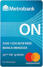 credit cards for first-timers - metrobank on virtual mastercard