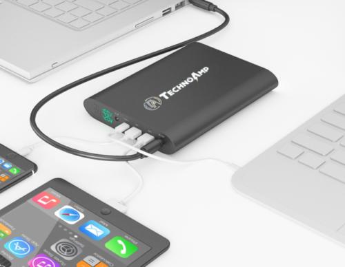 gift ideas for techies - technoamp powerbank