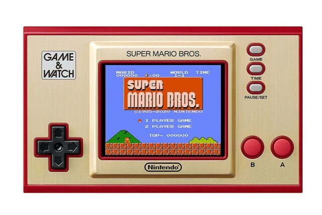 gift ideas for techies - nintendo game and watch
