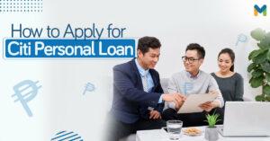 Citi personal loan