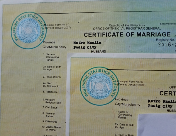 Getting Married in Philippines - Marriage Contract, License, Cenomar, etc   Get Your Marriage Certificate