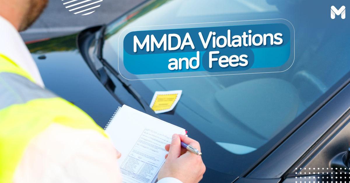 MMDA Violation and Penalty Fee List | Moneymax