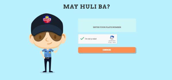 how to pay mmda violation