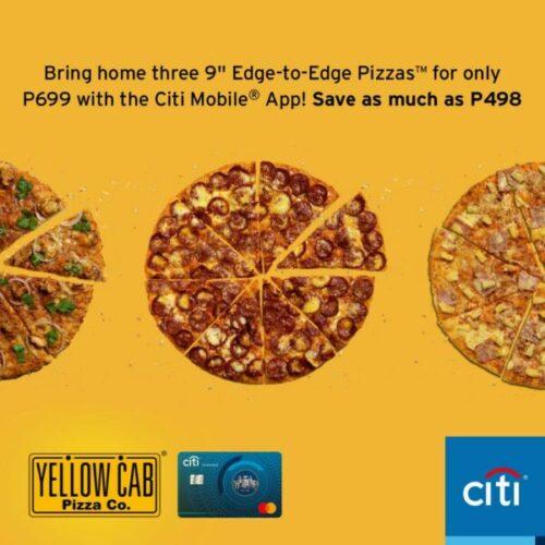 credit card christmas promotion - citi yellow cab promo