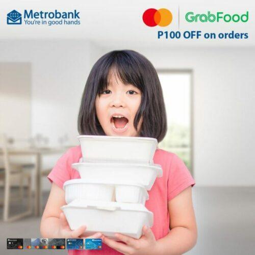 credit card christmas promotion - metrobank grabfood