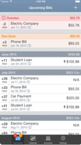 best budgeting apps in the philippines - bill tracker