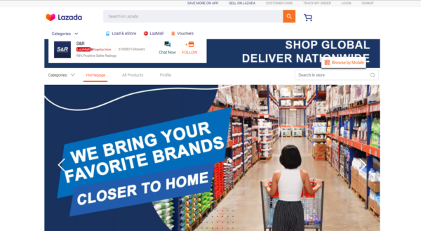 Online Grocery Delivery in the Philippines - S&R