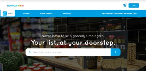 Online Grocery Delivery in the Philippines - MerryMart