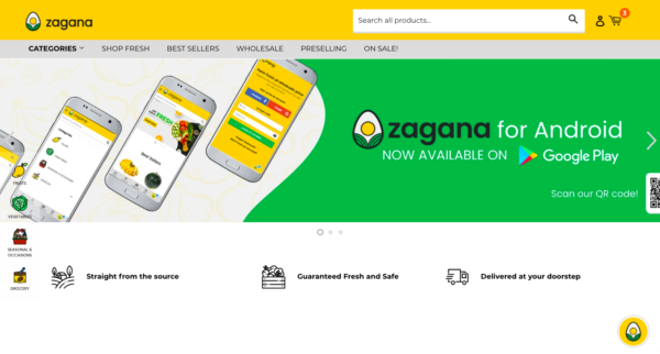 Online Grocery Delivery in the Philippines - Zagana