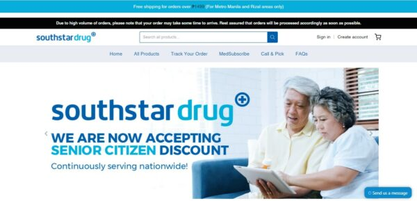 Medicine Delivery in the Philippines - Southstar Drug