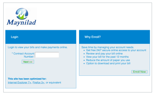 Maynilad Online Guide - How to Check Maynilad Bill