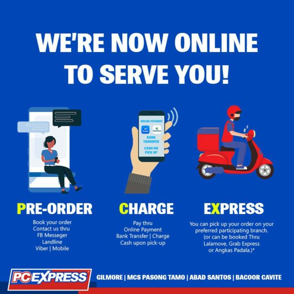 Online Gadget Stores Operating During ECQ - PC Express