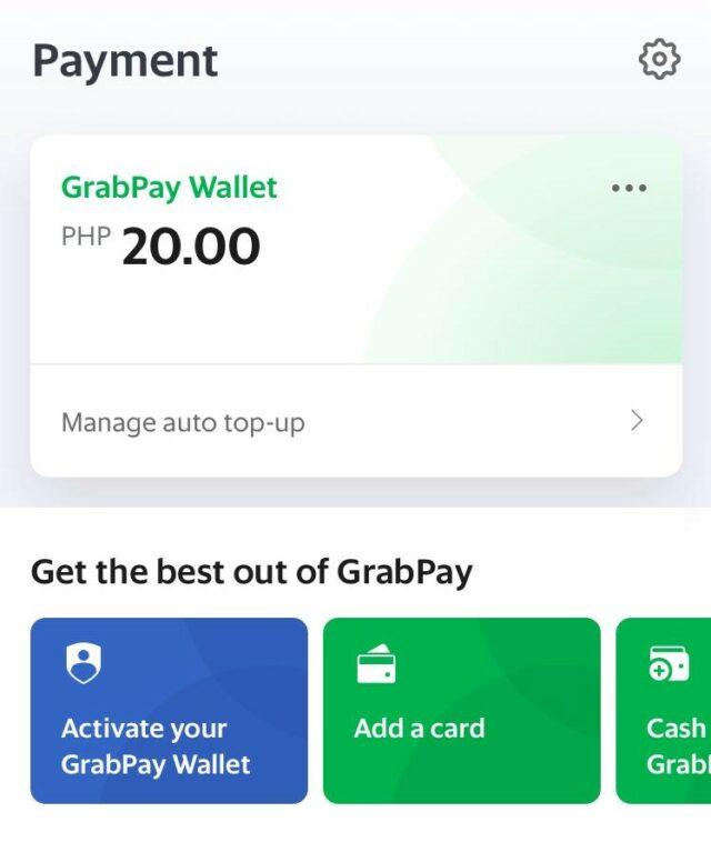 GrabPay - Premium Wallet