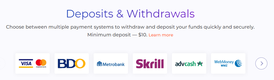 IQ Option for Beginners - How to Deposit and Withdraw Funds